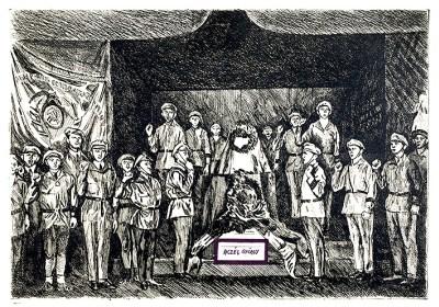 Elvtársak temetése, az 1970-es évek első feléből