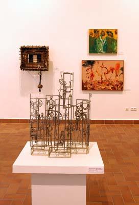 A kiállítás tere
