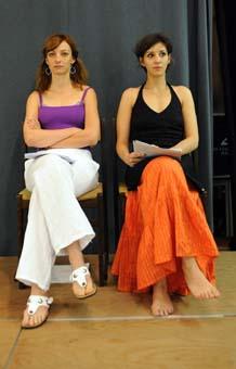 Elvira és Petúnia - Szalay Marianna, Bánfalvi Eszter. Fotó: Szkárossy Zsuzsa
