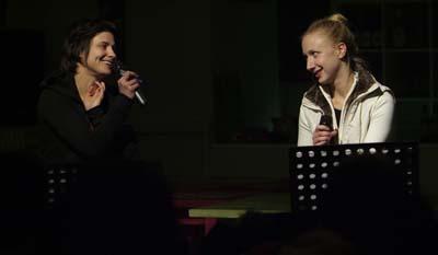 Simona Semenic és Szandtner Anna