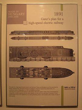 A Ganz motorvonat terve